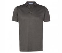 Poloshirt aus Leinen