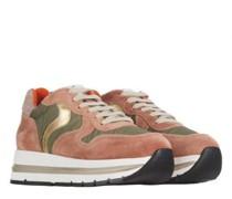 Sneaker 'Maran' aus Material-Mix