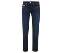 Straight Leg Jeans mit Waschung