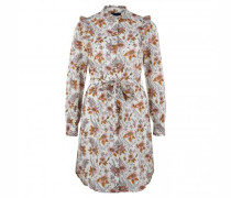 Blusenkleid mit All-Over Muster