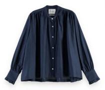 Oversized Bluse mit Rüschen-Details