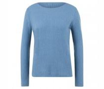 Pullover aus reinem Cashmere mit U-Boot Ausschnitt