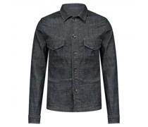 Jeansjacke im Overshirt Style
