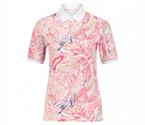 Poloshirt 'Cleo' mit All-Over Muster