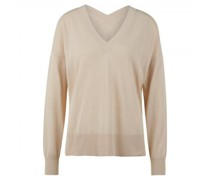 Oversize Pullover 'Dida' mit V-Ausschnitt