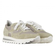 Sneaker 'Felipa' aus Material-Mix