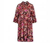 Fließendes Kleid 'Sita' mit floralem Muster