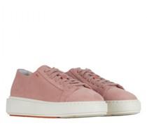 Sneaker aus Veluorsleder