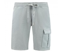 Sweatshorts mit aufgesetzter Tasche