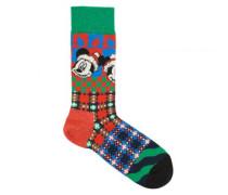 Socken mit Mickey Mouse-Motiv