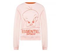 Sweatshirt mit frontalem Print