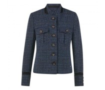 Jacke mit All-Over Muster