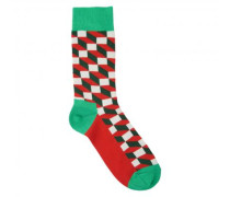 Socken mit Grafik-Muster