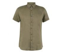 Slim-Fit Hemd aus Leinen