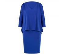Jerseykleid im Layering-Stil und Glitzer Details