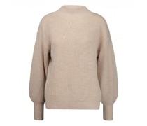 Oversized Pullover aus Merinowolle