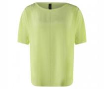 T-Shirt mit weitem Ausschnitt