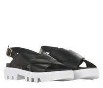 Sandale mit Profilsohle
