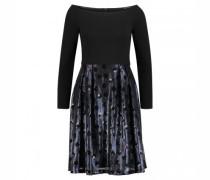 Kurzes Kleid mit Paillettenrock