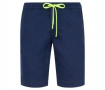 Slim-Fit Short mit elastischem Bund