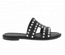 Sandale mit Nietendetails