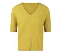 Kurzarm Pullover mit feiner Musterung