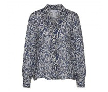 Bluse 'Cipritty' mit All-Over Paisley-Muster