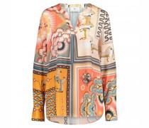 Bluse im Tunika Stil mit All Over Druck