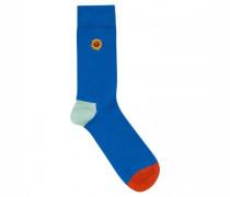 Socken mit Stickerei