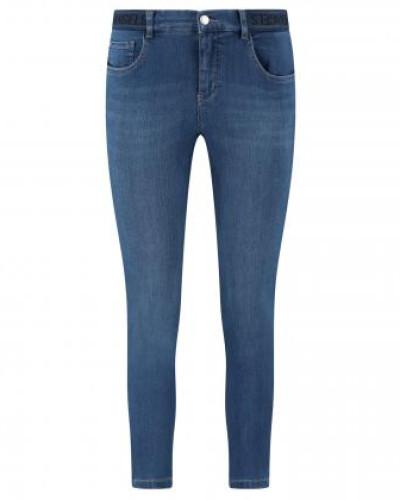 7/8 Slim-Fit Jeans 'Osfa' mit elastischem Bund