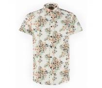 Regular-Fit Hemd mit All-Over Druck