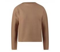 Pullover mit dezentem Stehkragen