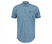 Regular-Fit Hemd mit All-Over Print