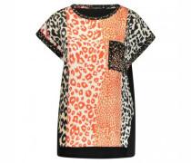 Blusenshirt mit Leoparden-Muster