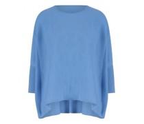 Cashmere-Pullover im Poncho-Stil