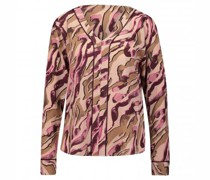 Bluse mit Tunika Ausschnitt