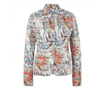 Steppjacke mit All-Over Muster