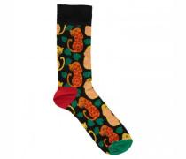 Socken mit Leoparden-Motiv