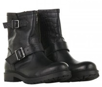 Boots 'Betty' in Biker-Optik