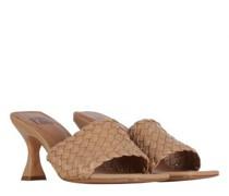 Sandalette mit Flecht-Details