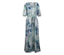 Kleid 'Tyraa' mit All-Over Wasserfarben Druck