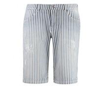Shorts mit Streifenmustert