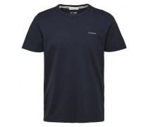 T-Shirt mit Logostickerei