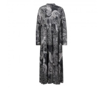 Maxikleid mit All-Over Print