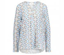 Bluse im Tunika Stil mit grafischem All Over Druck