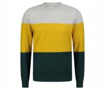 Pullover 'Hurbert' im Colour-Blocking Design