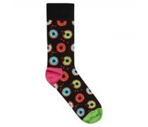 Socken mit Donuts-Motiv