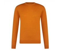 Leichter Pullover mit Rundhalsausschnitt