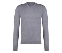 Leichter Pullover mit V-Neck