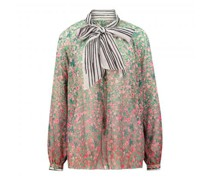Bluse mit Muster-Mix